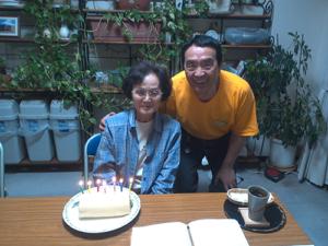 87歳のお誕生日